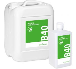 B 40 Schnelldesinfektion – Gebrauchsfertig & rückstandsfrei