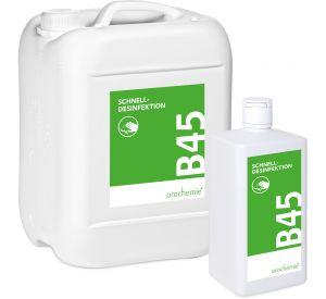 B 45 Schnelldesinfektion  - Gebrauchsfertig - für empfindliche Flächen