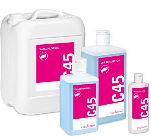 C 45 Waschlotion - Ergiebig & hautschonend - Gebrauchsfertig