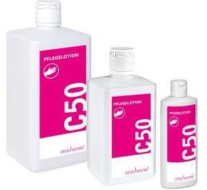 C 50 Pflegelotion - Zieht schnell ein & fettet nicht - Gebrauchsfertig